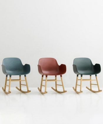 Fauteuil Form rocking